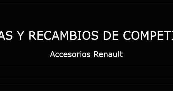 para Renault T Ribetes Rojos Funda para Asiento DE Coche 2 Unidades Renault C